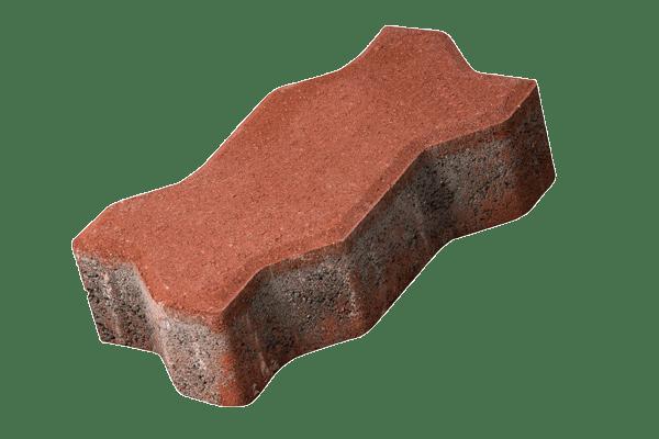 petra-pavaje-Unda-22,5x11,2x6-rosu