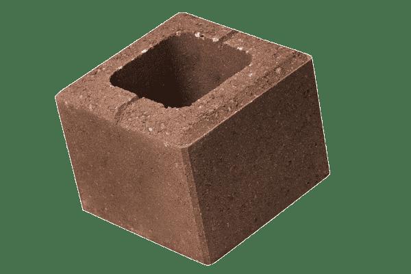 petra-pavaje-gard-simplu-robusto-20x20x16-maro