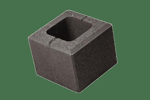 petra-pavaje-gard-simplu-robusto-20x20x16-negru